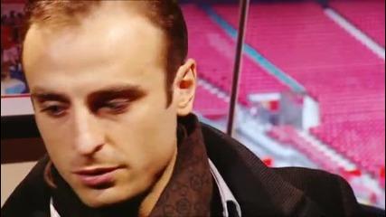 Димитър Бербатов даде интервю на своя идол от детството - Алън Шиърър