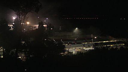Greece: Riots continue into night at Moria refugee centre
