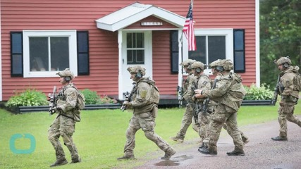 Gunman Sought After Four People Shot in Three Maine Communities