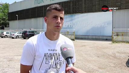 Минчев: Амбициран съм да се докажа в Спарта Прага