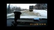 Професионализъм или Късмет - овладяване на камион