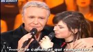 Michel Sardou et Lucie - Je Vais T'aimer [ Star Academy 4]