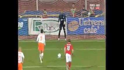 Rais Mbolhi saves a penalti