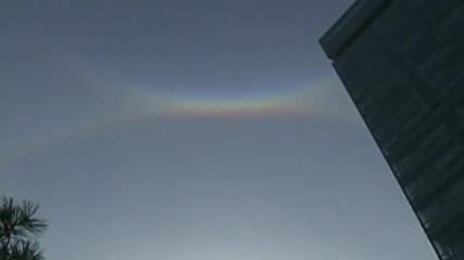 Чудо! Три слънца изгряха над Китай