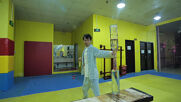 Shanghai man sets world record for lighting 21 matches with nunchucks in one minute