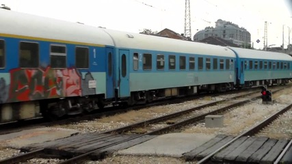 Дианата пристига с малко закъснение на централна гара Пловдив