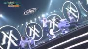 288.1007-8 Monsta X - Fighter, Music Bank E856 (071016)