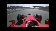 Раиконен Пол Позишън в Испания 2008 Ферари