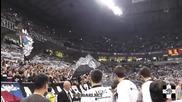 Партизан - Реал Мадрид - Da volim crno-bele! *02.01.2014*