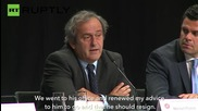 "Michel Platini: ""Enough is Enough"" – Blatter Must Go"