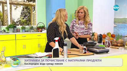 """Хитринки за почистване с натурални продукти от Влогъра Наталия Такова - """"На кафе"""" (04.12.2019)"""