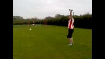 Sam - Soccer A.m. Crossbar Challenge