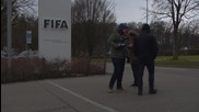Switzerland: Blatter leaves FIFA HQ through backdoor after 8 hours meeting