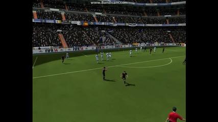 Fifa 14 - Яки Голчета от Free kick