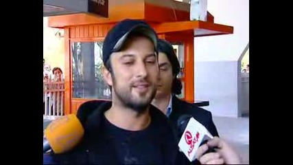 Tarkan - Интервю В Скопие (english)