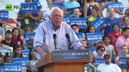 Sanders Repeats Challenge to Debate Trump