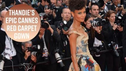 Thandie Newton's gown celebrates Black Star Wars actors