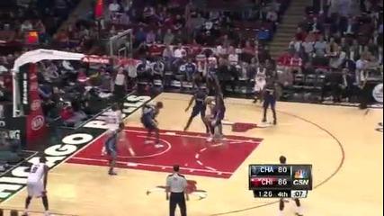 Чикаго Булс 93:85 Шарлът Бобкетс (28-01-2013 г.)