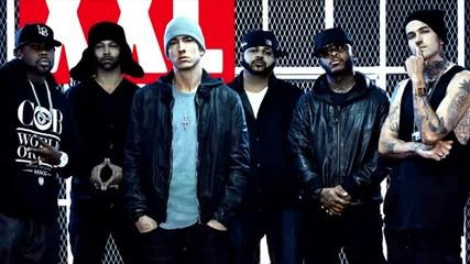 Новите Момчета на Шейди в Действие! Eminem Feat. Slaughterhouse & Yelawolf - 2.0 Boys [2011]