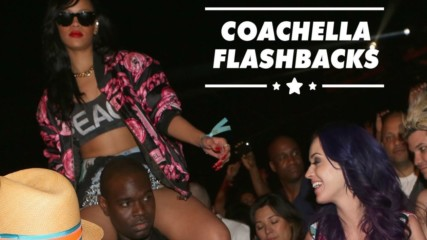 How celebs did Coachella back in the day