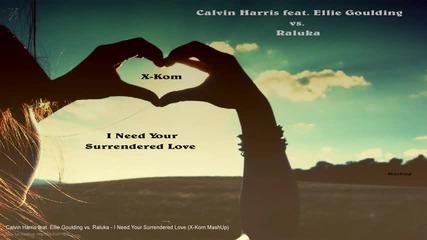Calvinharris vs raluka-i need your Surrenderd love