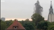Бомба избухва във вода ...