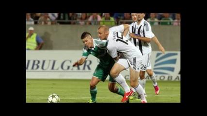 """""""Лудогорец"""" е на крачка от групите в Шампионската лига след 1:0 над """"Партизан"""""""