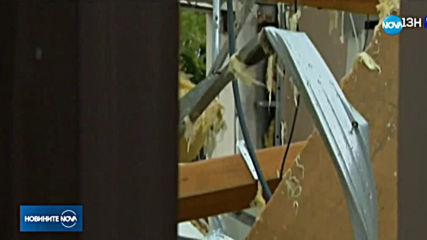 Торнадо разруши сгради във Франция