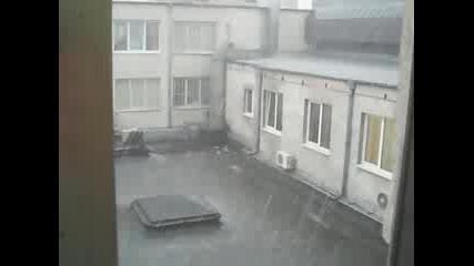 Градушката в София 08.06.2009г.
