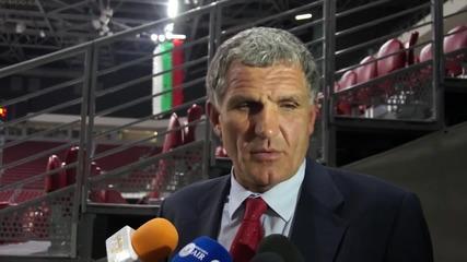 Сашо Везенков: Убеден съм, че ще бием и в Чехия