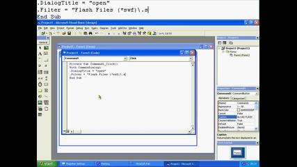 Vb6 Tutorial Lession1 Flash Player