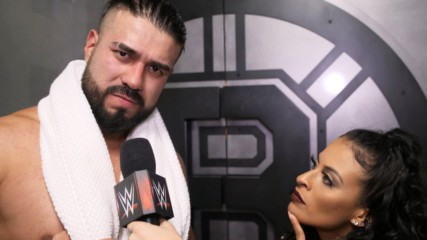 Andrade reacts to sneak attack: WWE.com Exclusive, Nov. 18, 2019