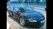 Страхотно Audi R8 В София