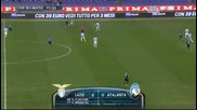 Lazio vs Atalanta 2-0