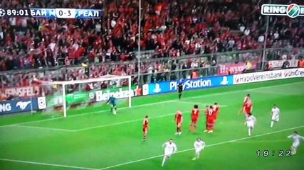 Роналдо разби Баварците с този пряк свободен удар
