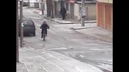 Drift с колело 2 :d