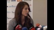 Пиронкова поздрави Григор и даде оценка на представянето си
