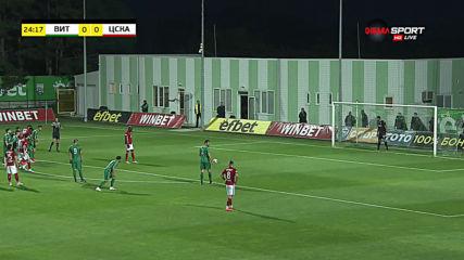 Али Соу профука дузпа за ЦСКА срещу Витоша