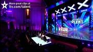 Група тийнейджъри изправиха публиката на крака - Великобритания Търси Талант 2012
