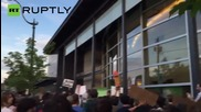 Hundreds Protest Shooting of Two Unarmed Black Youths by Washington Police