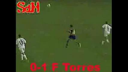 David Villa Vs Fernando Torres