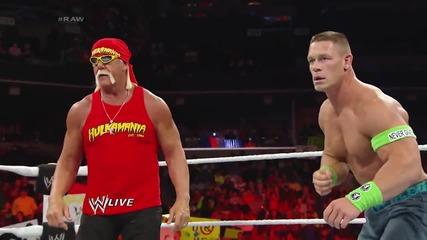 John Cena vs. Erick Rowan Raw (10.03.14)