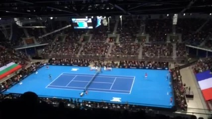 Тенис спектакъл: Гришо срещу Монфис