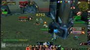 World of Warcraft Cataclysm 2v2 Feral/resto and arms/holy