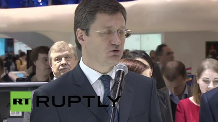 Russia: Novak talks up Russian-German energy collaboration