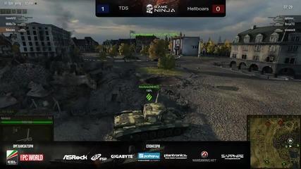 Game Ninja Wot: Tds vs Hellboars
