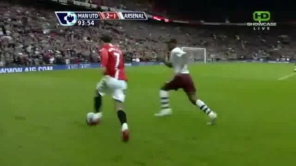 Cristiano Ronaldo се бъзика с футболисти на Арсенал