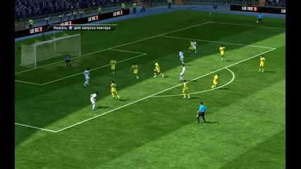 супер гол на кристиано роналдо на фифа 12