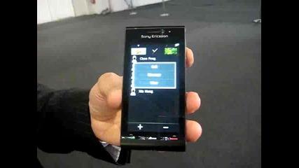 Ревю Sony Ericsson Idou. Телефон