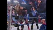 Team Angle vs Edge and Chris Benoit - Part 2/2 | Wwe Smackdown 30.1.2003